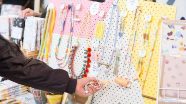 The sale will feature over 200 independent art, design and fashion stalls.