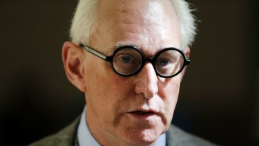 Roger Stone said that radio host and activist Randy Credico told him about Julian Assange's promise to release emails about Clinton.