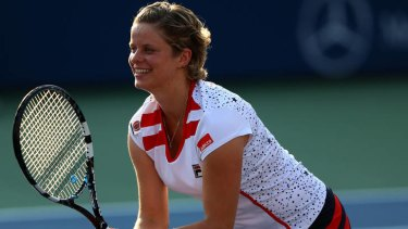 Farewell ... Kim Clijsters has hung up her racquet and retired from tennis.