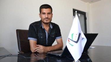 Camp spokesman Ahmad Smair, 27.