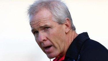 Pushed: Former NZ Warriors coach Matthew Elliott.