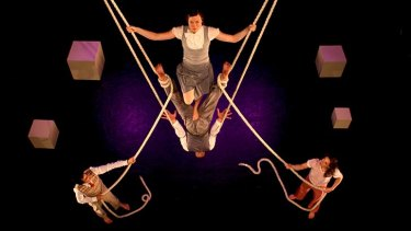 Hanging out: Aerial choreography from Ockham's Razor.