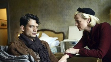 Surprise twist: Ben Winspear and Marta Dusseldorp in <i>A Place to Call Home</i>.