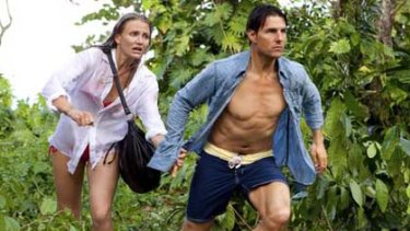 Tom Cruise and Cameron Diaz in the lacklustre  <i>Knight and Day</i>