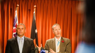 NT Chief Minister Adam Giles and Jemena MD Paul Adams said the pipeline will spur the NT gas industry.