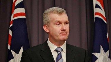 Environment minister Tony Burke.
