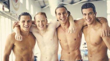 Ben Kindon, Rhys Mitchell, Andrew Creer and Elias Anton, <i>Barracuda</i>.