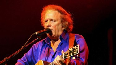 Freshness and clarity ... Don McLean, pictured during his 2008 visit to Australia.