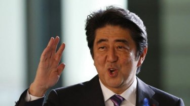Ending the ban would be a win for Japan's Prime Minister Shinzo Abe.