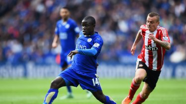 Leicester City's Ngolo Kante, a French national, would not have automatically qualified to play for the club under a Brexit.