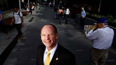 Unwilling to wait for his city's turn ... the Brisbane lord mayor, Campbell Newman.
