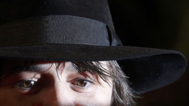 You can be cheerful and unhappy without being fake, says Pete Doherty.