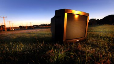 Television recycling, e-waste, landfill