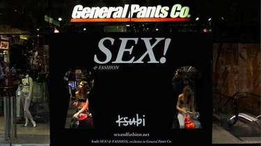 General Pants store promotion last year.