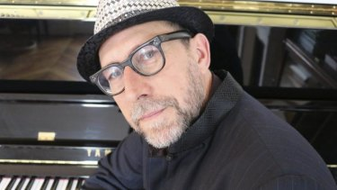 Steve Nieve has collected pianos from all over the world.