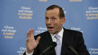 Opposition Leader Tony Abbott responds to news the election has been called for September 7.