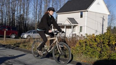 "Kaci Hickox: ""There is no legal action against me, so I'm free to go on a bike ride in my hometown."""