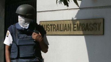 Australian embassay staff in Jakarta are bracing for protests stemming from spying revelations.