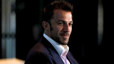 Happy days: Italian star Alessandro Del Piero loves life in Sydney.