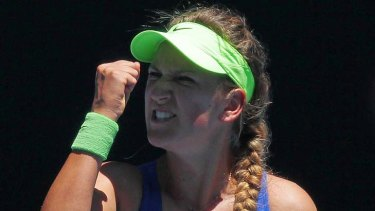 """Life goes on. It's just a tennis match. You have to look at the big picture"" ... Victoria Azarenka."