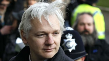 Cans of worms: Julian Assange.