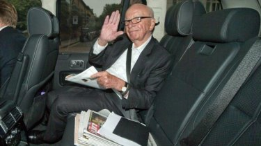 "Climate change should be treated with ''much scepticism''"" Rupert Murdoch."