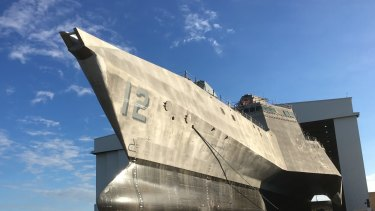 Austal has been hit by a cost blow-out on the US shipbuilding program.
