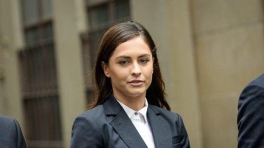 Yahoo7 reporter Krystal Johnson escaped with a good behaviour bond.