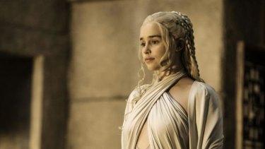 'Epic': Emilia Clarke, who plays Daernerys Targaryen says season six will be the biggest yet.