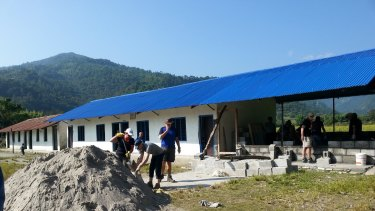 Australians volunteering in Nepal thanks to Canberra charity REACH for Nepal.