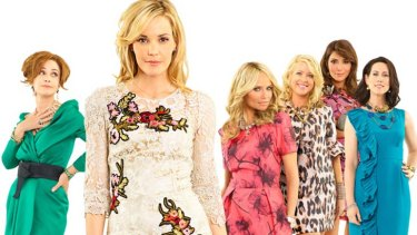 Softening the blow ... Channel Seven has agreed to change the name of an upcoming program, <i>Good Christian Bitches</i>, to <i>GCB</i>. Above, cast members of <i>Good Christian Belle</i>.