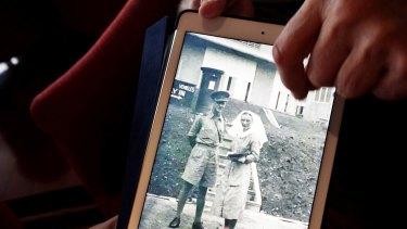 Kath Neuss, right, was killed in the Bangka Island massacre
