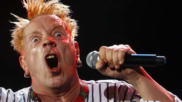 "''What I do is poetry in motion"": John Lydon."