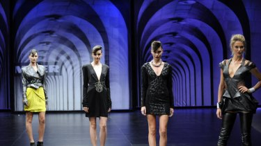 Smooth operators: More than 60 models will grace the runway shows at the L'Oreal Melbourne Fashion Festival.
