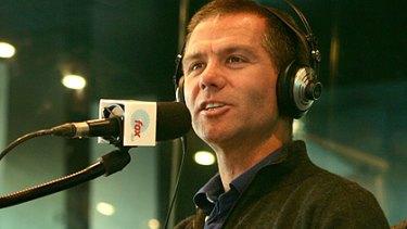 Popular host ... Matt Tilley on air for Fox FM.