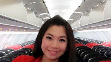 Lost: Khairunisa Haidar Fauzi, a trainee flight attendant on AirAsia flight QZ8501.