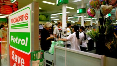 Staff numbers at Woolworths are heading towards 200,000.