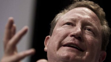Andrew Forrest reckons Australia should ignore Europe's woes.