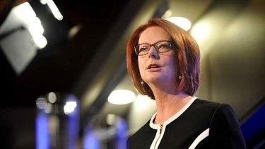 Under fire ... Julia Gillard.