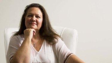 Gina Rinehart ... the world's richest woman according to <i>BRW</i>.