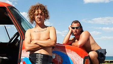 Blake from 'Angry Boys'.