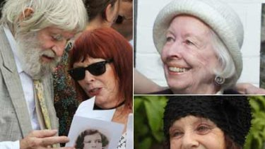 A surprise awaited mourners at Beryl Whiteley's funeral