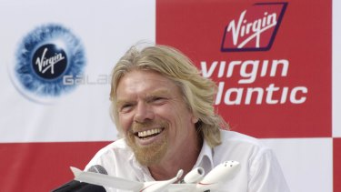 "Virgin boss Richard Branson said the deal would let the airline to ""prosper and grow"" in coming decades ""as I get a little older."""