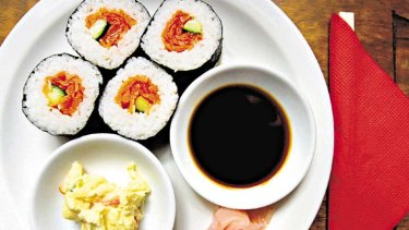 Sushi has been linked to thyroid illness.