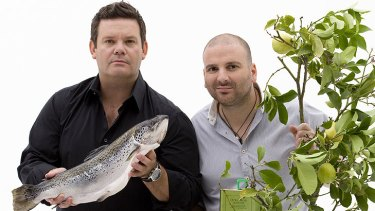Affordable? ... Gary Mehigan and George Calombaris.