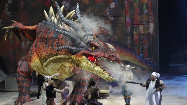 Inspiring awe: Creature Technology manufactured a range of dinosaurs for the Jurassic World exhibition.