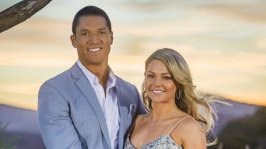 Blake Garvey and Sam Frost ended their engagement.