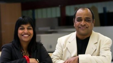 A different dynamic ... Priyanka Rao and her father Sudhindra have gone into business together.