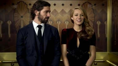 Michiel Huisman and Blake Lively in <i>The Age Of Adaline</i>.