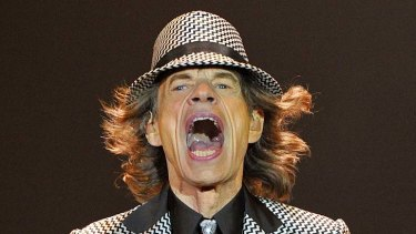 Mick Jagger performing in London last year.